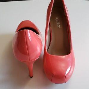 Delicacy coral heels